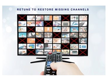 Freeview Retunes - 27th March & 4th April